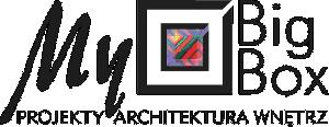 Logo MyBigBox - projekty architektura wnętrz